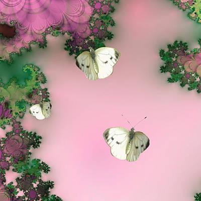 Fluttering Digital Art - Flutters by Sharon Lisa Clarke