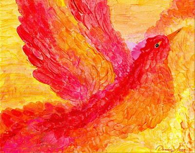 Flying Free Print by Denise Hoag