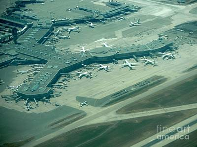 Areoplanes Photograph - Van Interntaional Airport by Virginia Black