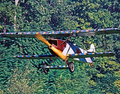 Fokker Dvii 02 Print by Jeff Stallard