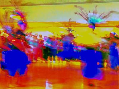Traditional Folk Dance Digital Art - Folklorico 1 by Randall Weidner