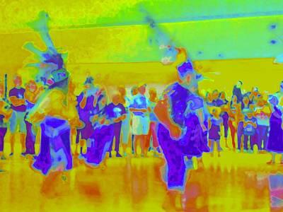 Traditional Folk Dance Digital Art - Folklorico 3 by Randall Weidner