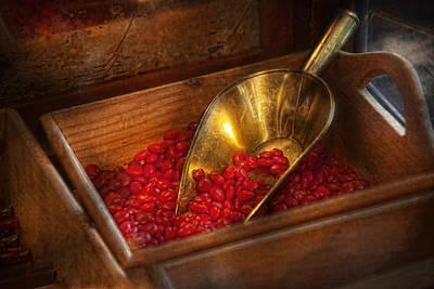 Food - Candy - Hot Cinnamon Candies  Print by Mike Savad