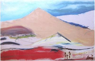 Rod Ismay Painting - Foothills by Rod Ismay