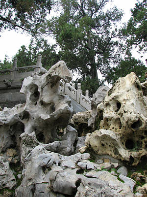 Paris Photograph - Forbidden City Rock Sculpture  by Carla Parris