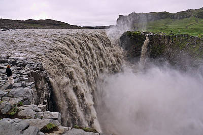 Dettifoss Photograph - Force Of Nature by Ivan Slosar
