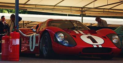 Andretti Photograph - Ford Gt40 Mkiv by Christopher Mercer