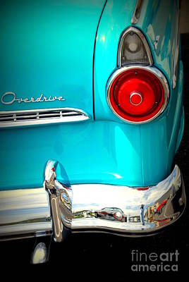 Ford Overdrive Print by Susanne Van Hulst