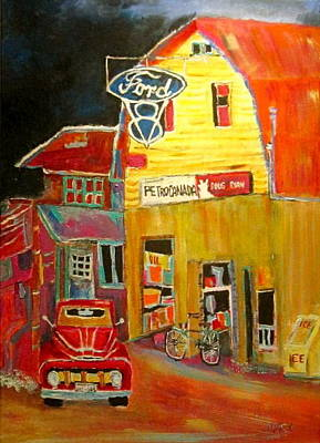 Litvack Painting - Ford Petrocan by Michael Litvack