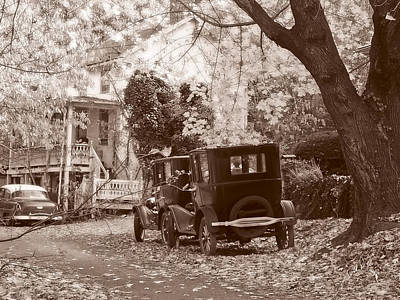 Fords At Harpers Ferry Print by Williams-Cairns Photography LLC