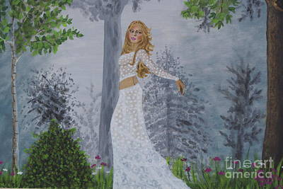 Shakira Painting - Forest Frolic by William Ohanlan