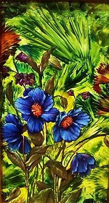 Painting - Forget-me- by Jeanne Mytareva