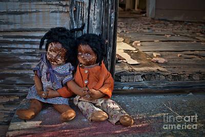 Ethnic Dolls Photograph - Forgotten Dolls Study I by Norma Warden