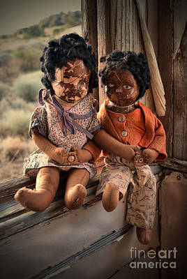 Ethnic Dolls Photograph - Forgotten Dolls Study II by Norma Warden