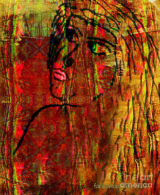 Forgotten Print by Fania Simon