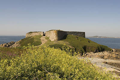 Fort Pezeries - Plainmont - Isle Of Guernsey. Print by Urft Valley Art