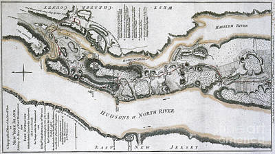 Fort Washington Attacks, 1776 Print by Photo Researchers