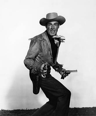 Fort Worth, Randolph Scott, 1951 Print by Everett