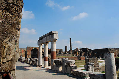 Forum Pompeii Original by Terence Davis