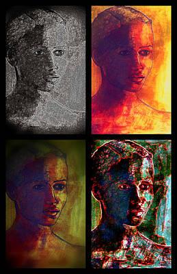 Four Seasons Print by Diane montana Jansson