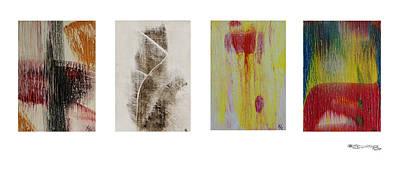 Xoanxo Digital Art - Four Seasons In Abstract by Xoanxo Cespon