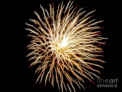 4th July Digital Art - Fourth Of July by Mariola Bitner