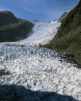 Fox Glacier, New Zealand Print by Michael Marten
