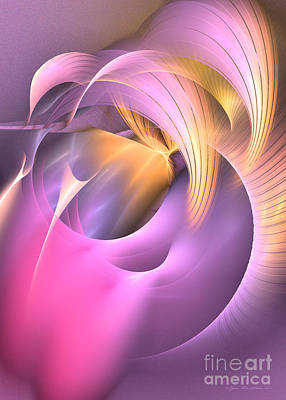 Fractal Art - Cornu Copiae Original by Sipo Liimatainen