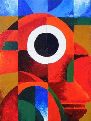 Loganville Painting - Fragmentation by Harold Bascom