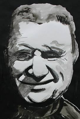 Francis Bacon Study Print by Gerard Dillon