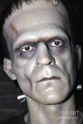 Statue Portrait Photograph - Frankensteins Monster by Sophie Vigneault