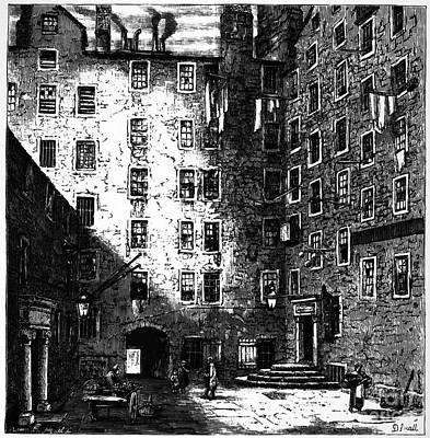 1759 Photograph - Franklin: Residence, 1759 by Granger