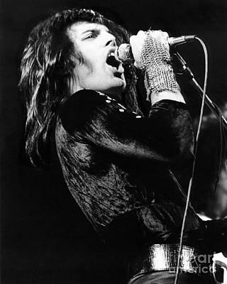 Queen Photograph - Freddie Mercury Of Queen In 1974 by Chris Walter