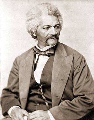 Frederick Douglass 1818-1895, Former Print by Everett