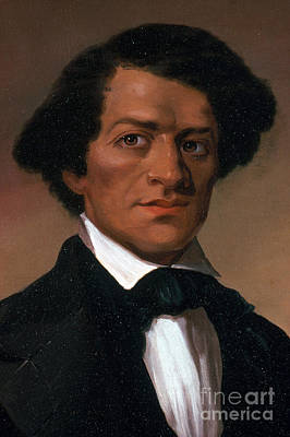 Abolition Photograph - Frederick Douglass, African-american by Photo Researchers