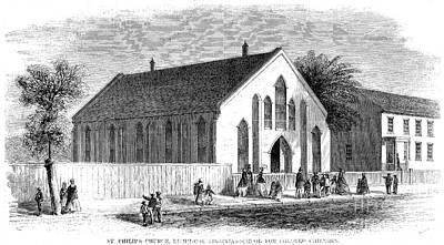 Freedmen School, 1867 Print by Granger