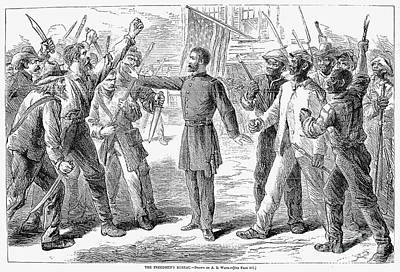 Freedmens Bureau, 1868 Print by Granger