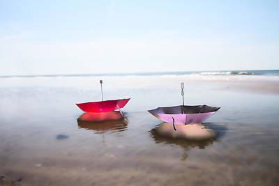 Umbrellas Digital Art - Freedom by Betsy C Knapp