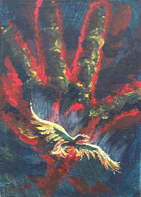 Soaring Painting - Freedom by Sheri Lauren Schmidt