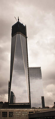 Freedom Tower 1wtc Print by Teresa Mucha