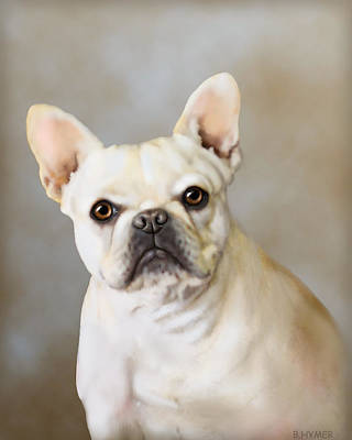 French Bulldog Luna Print by Barbara Hymer