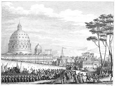 French Enter Rome, 1798 Print by Granger