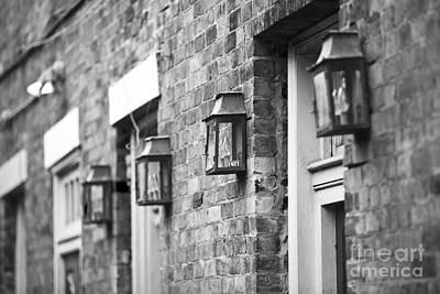 Leda Photograph - French Quarter Lamps by Leslie Leda