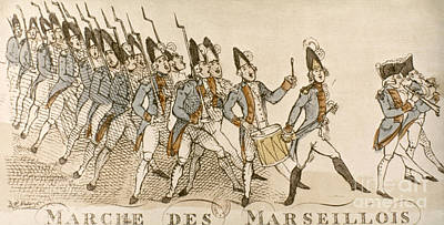 French Rev: Volunteer, 1792 Print by Granger