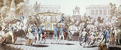 French Royal Family Print by Granger