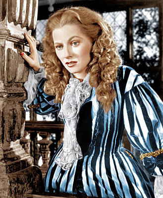Frenchmans Creek, Joan Fontaine, 1944 Print by Everett