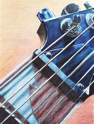 Fret Print by George Wagner
