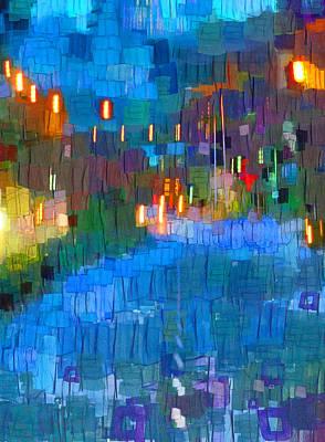 Vivacious Digital Art - Friday Night Eyes  by Steve Taylor