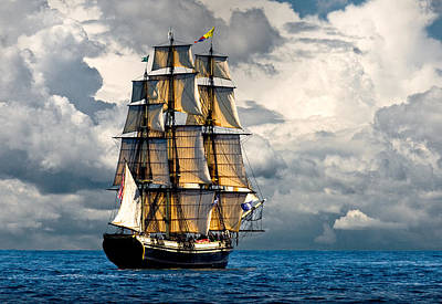 Windjammer Photograph - Friendship Of Salem by Fred LeBlanc