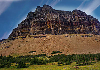 From Logan Pass Print by Marty Koch